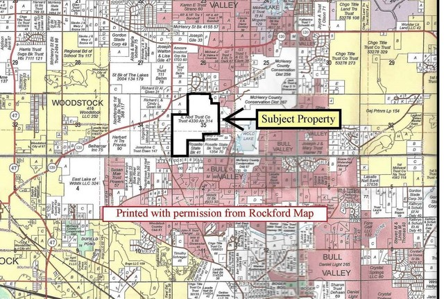 Property for sale at Parcel 1 Thompson Road, Woodstock,  IL 60098