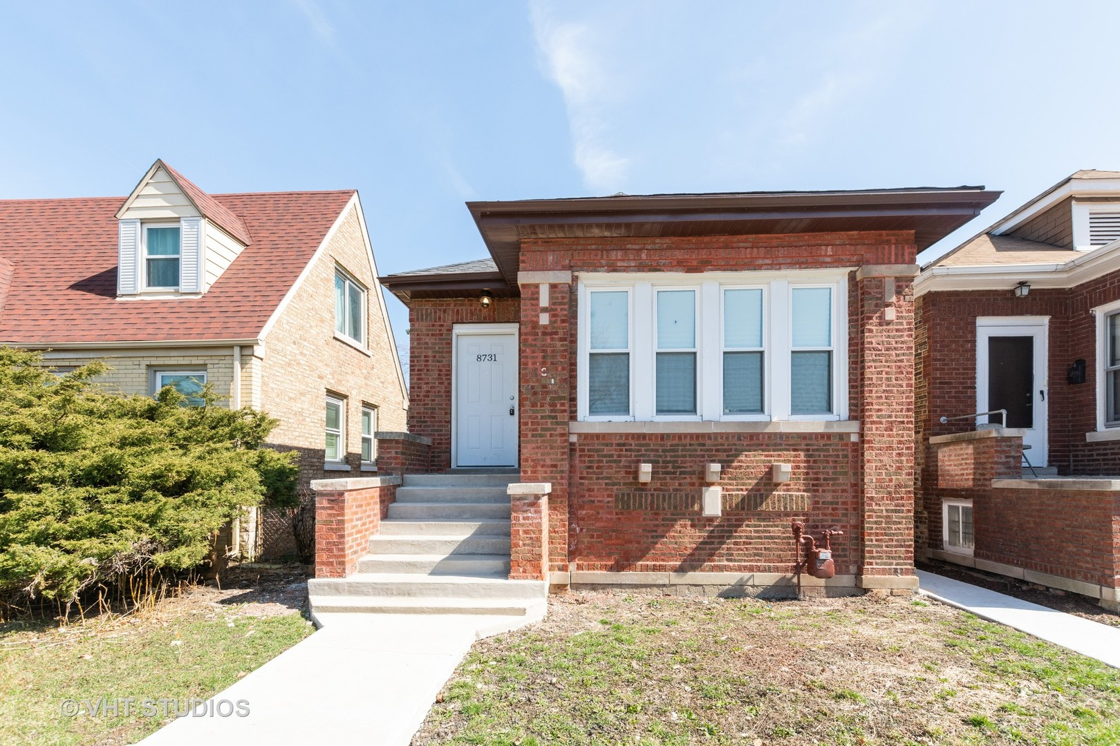 8731 S Honore Exterior Photo