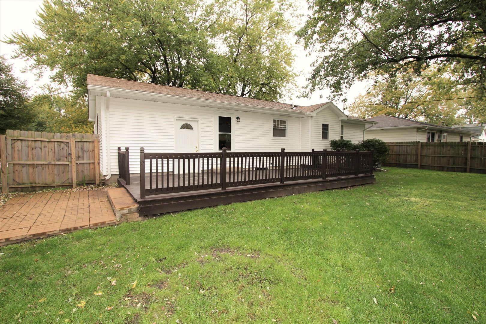 213 East Wilson, Peotone, Illinois, 60468