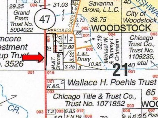Property for sale at 0 Rt 47 & Hercules Road Highway, Woodstock,  IL 60098