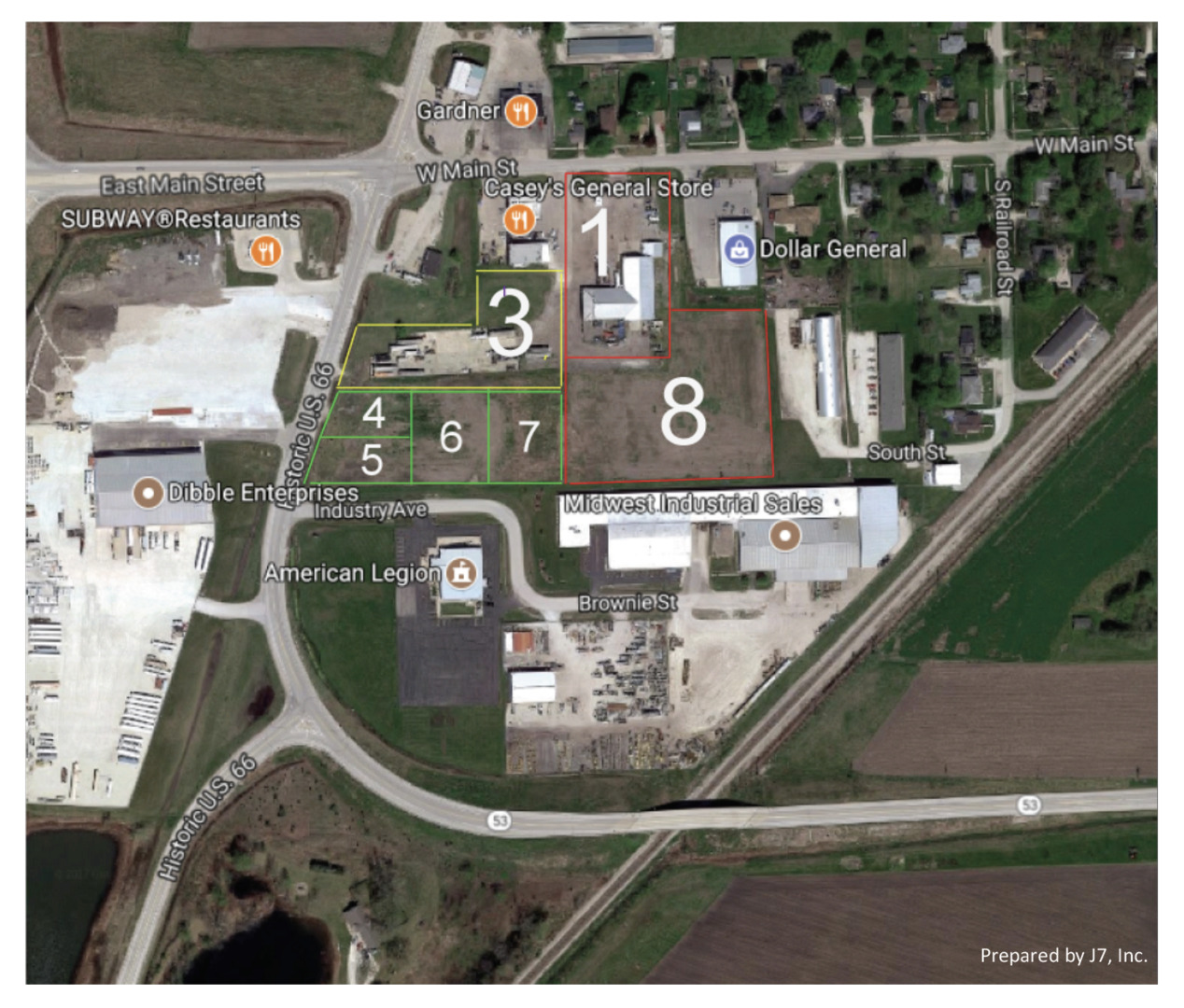 Property for sale at Lot 6/7 West Main Street, Gardner,  IL 60424