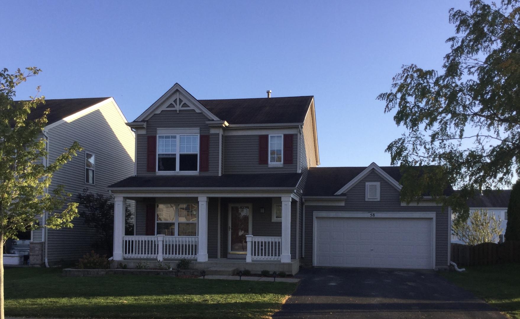 58 East Clover, Cortland, Illinois, 60112