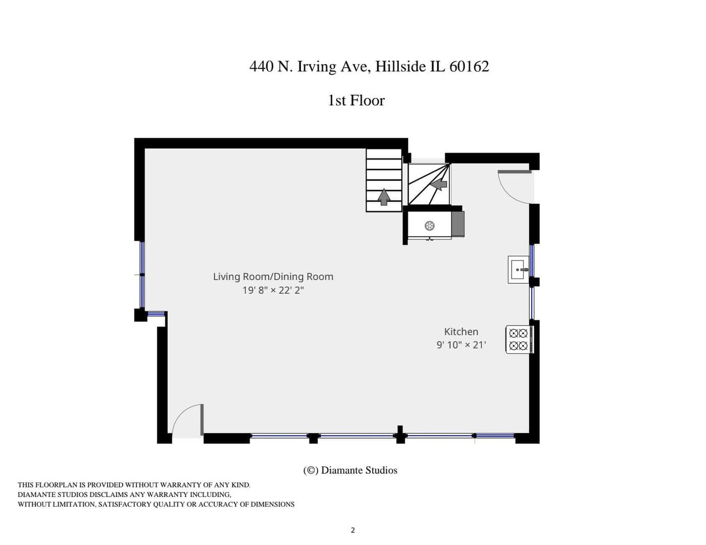 440 North Irving, Hillside, Illinois, 60162