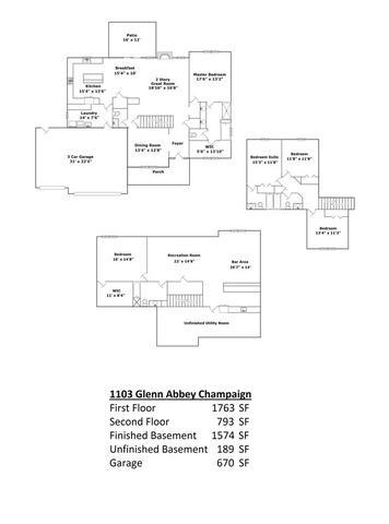 1103 Glen Abbey, Champaign, Illinois, 61822