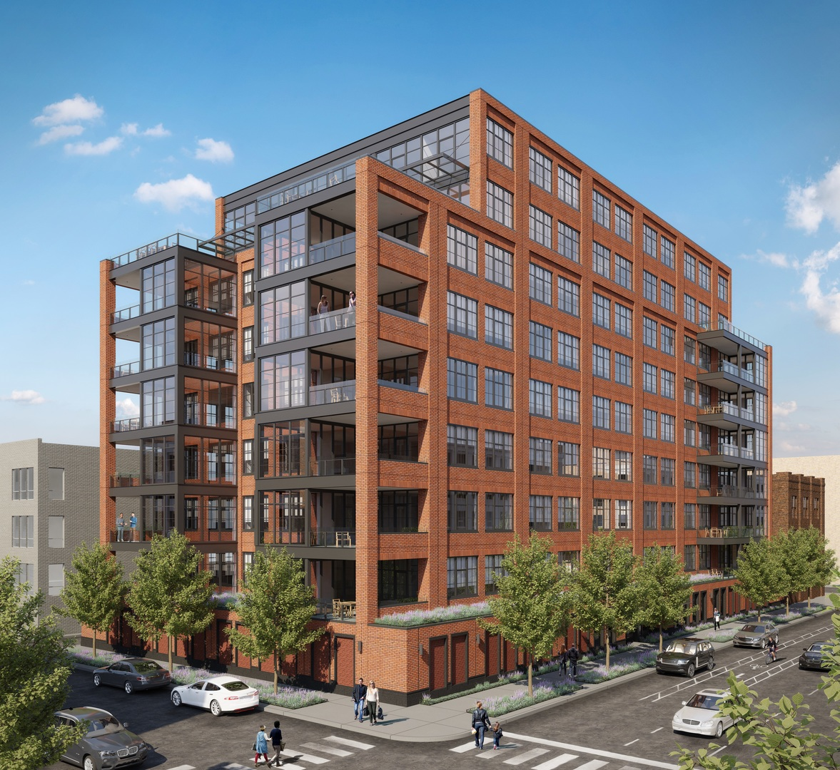 Кондоминиум для того Продажа на 1109 West Washington Boulevard #6C 1109 West Washington Boulevard #6C Chicago, Иллинойс,60607 Соединенные Штаты