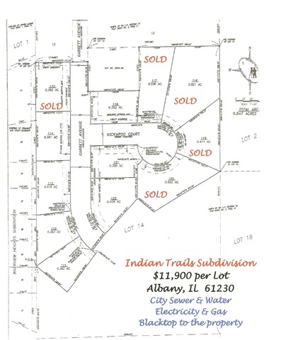 Lot 112 Garrett Avenue, Albany, IL 61230