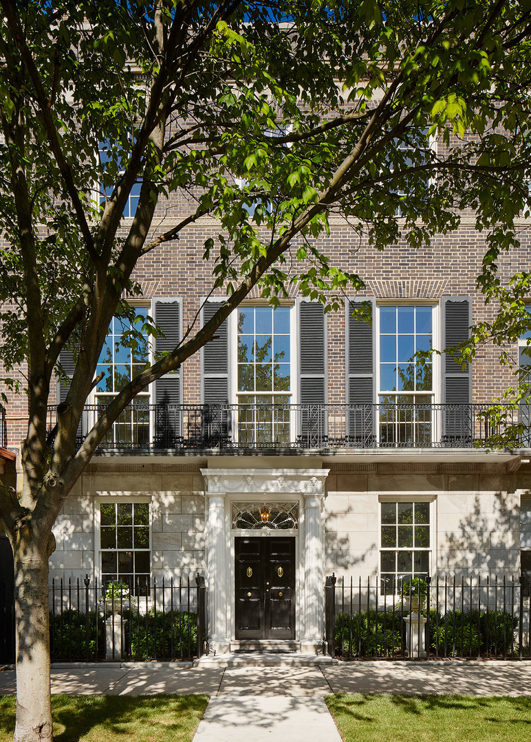Different Architectural Styles Exterior House Designs: Luxury Homes For Sale In Chicago, Illinois
