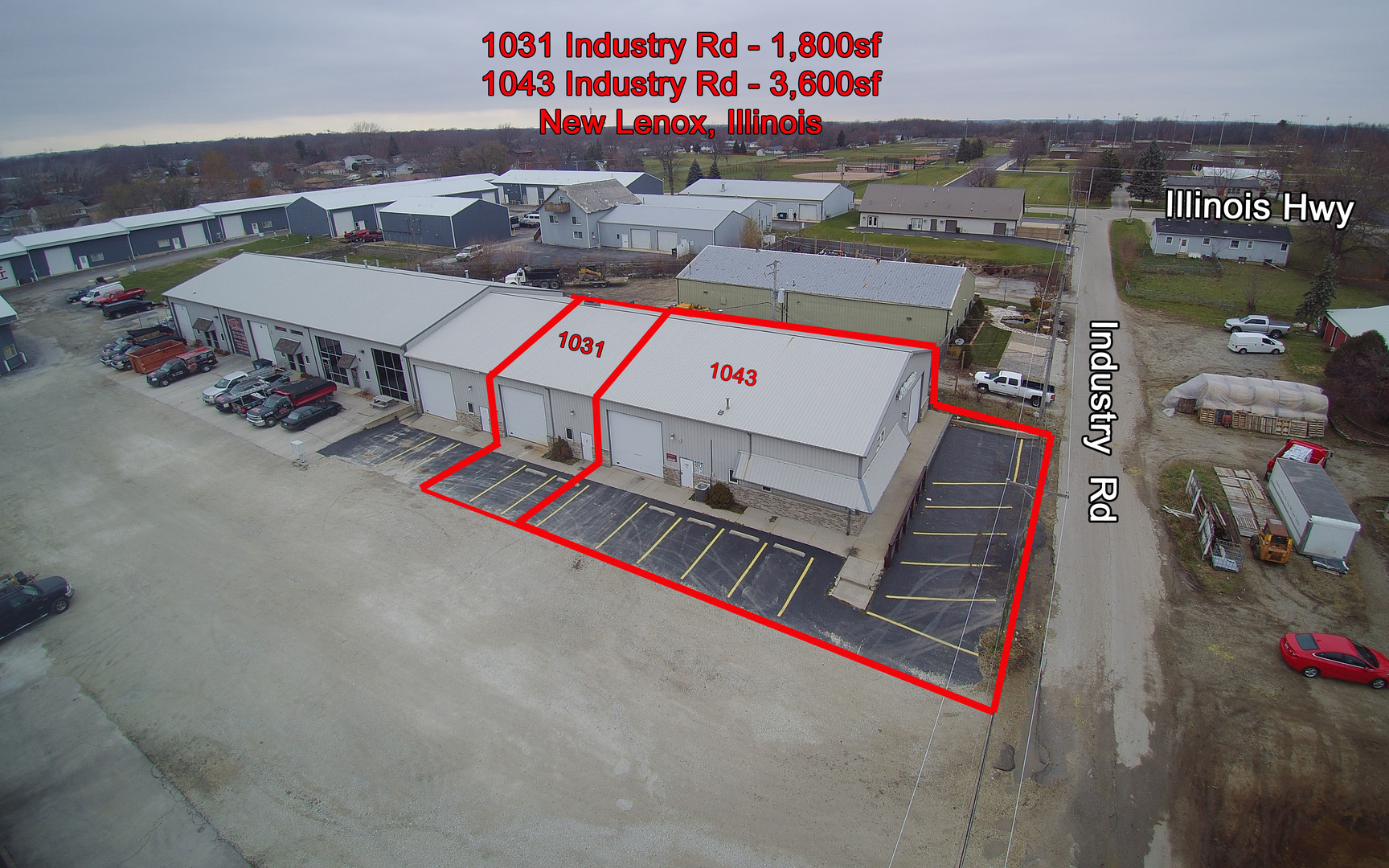 Illinois will county crest hill 60435 - 1043 Industry Road 1027 4