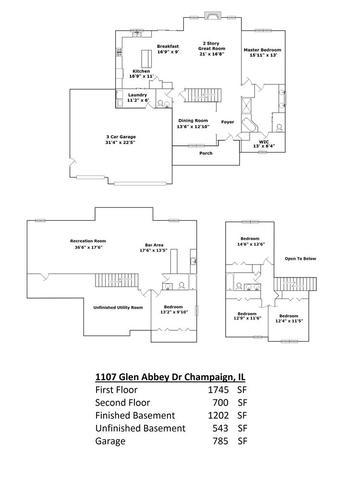 1107 Glen Abbey, Champaign, Illinois, 61822