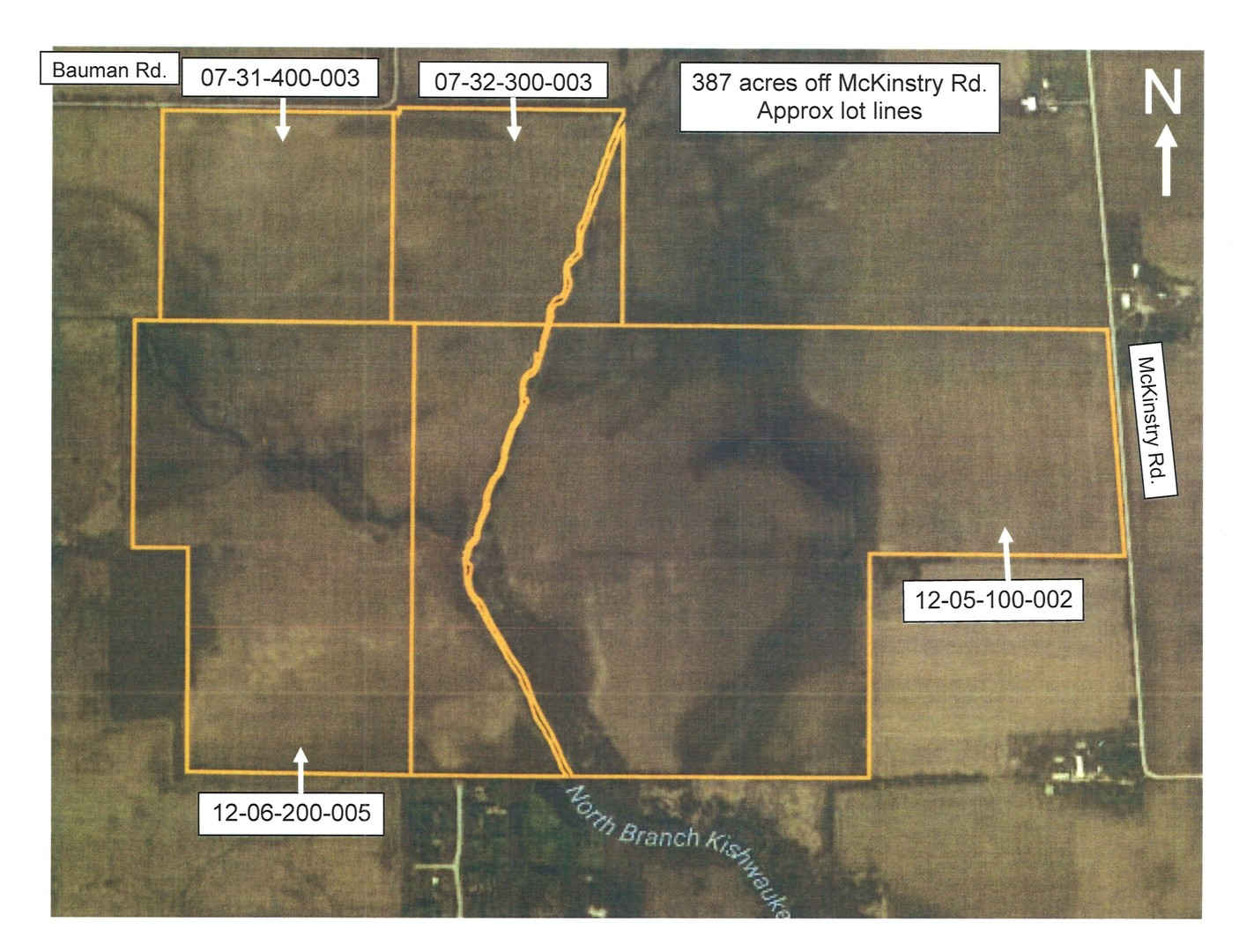 Property for sale at 387 Acres Off Mckinstry Road, Woodstock,  IL 60098