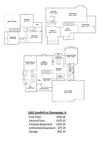 3101 SANDHILL, Champaign, Illinois, 61822