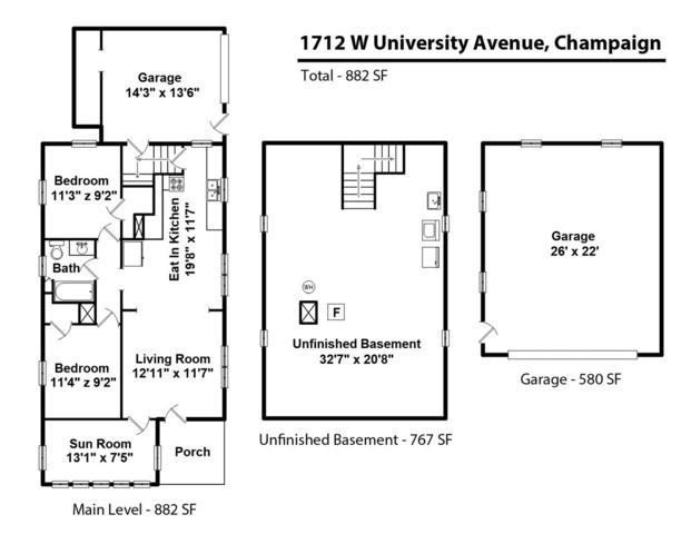 1712 West University, Champaign, Illinois, 61821