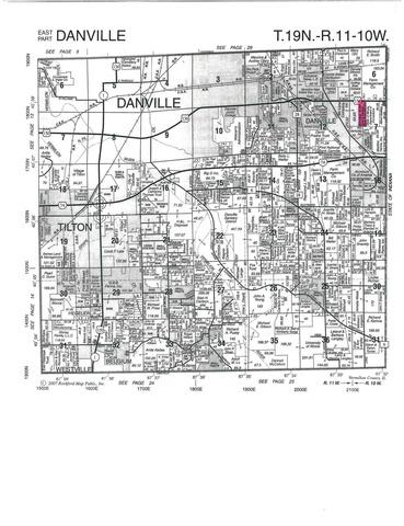 Sec 7 T19N R10W, Danville, IL 61833