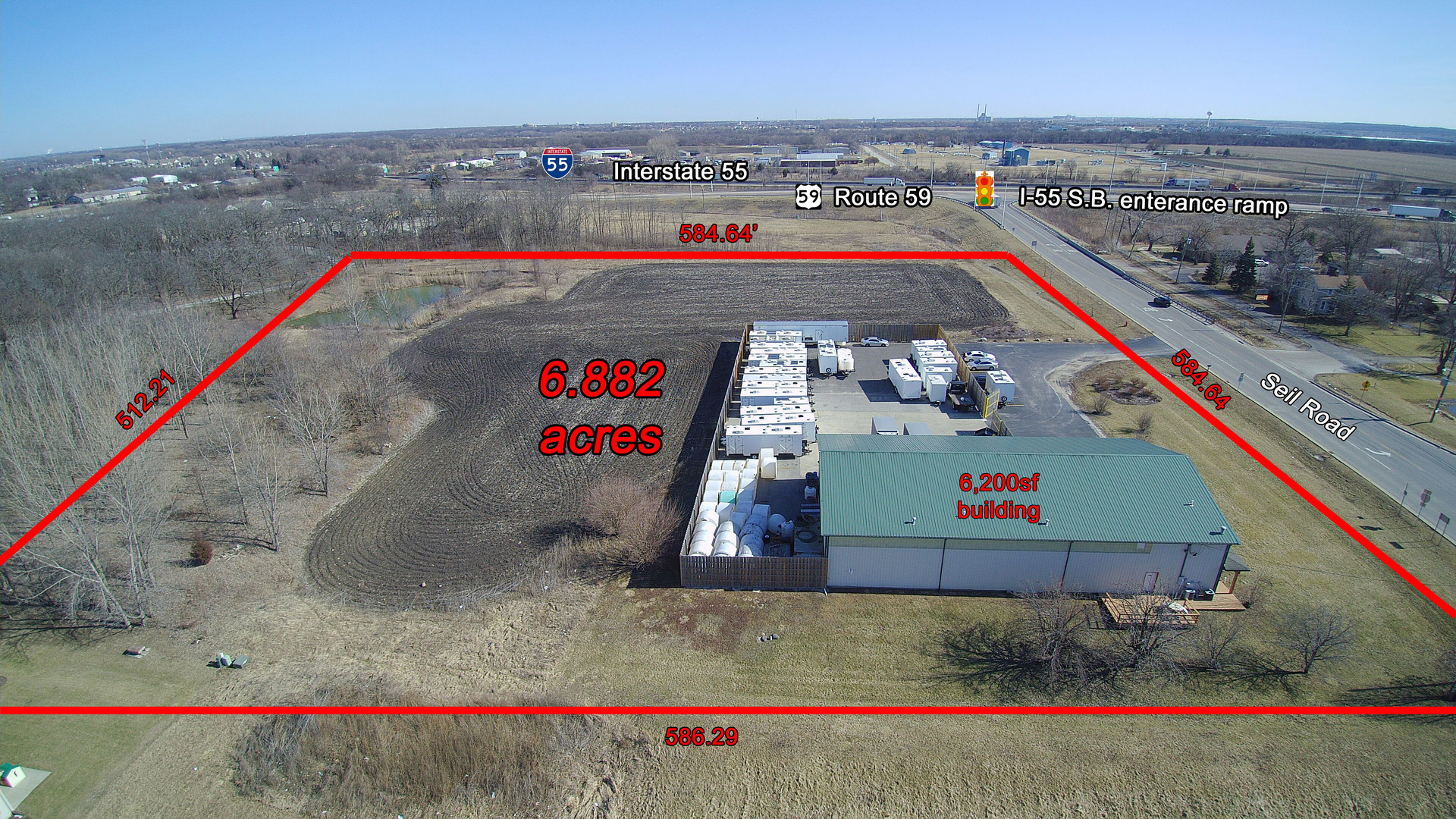 Property for sale at 24140 West Seil Road, Shorewood,  IL 60404