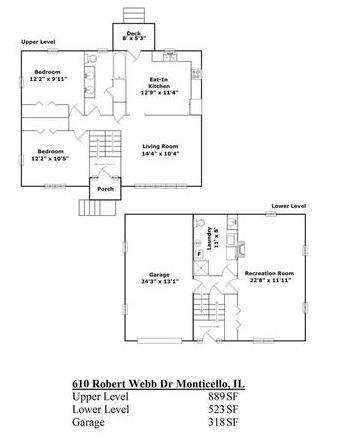 610 Robert Webb, Monticello, Illinois, 61856