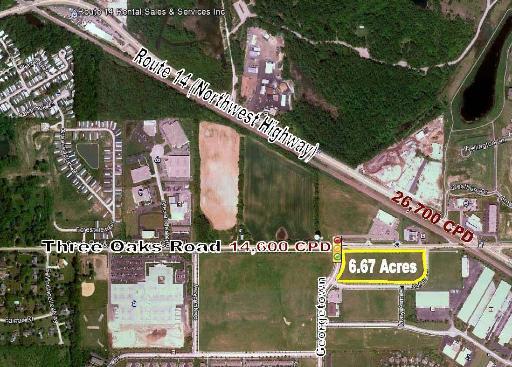 LOT 2 THREE OAKS Road, Cary, IL 60013