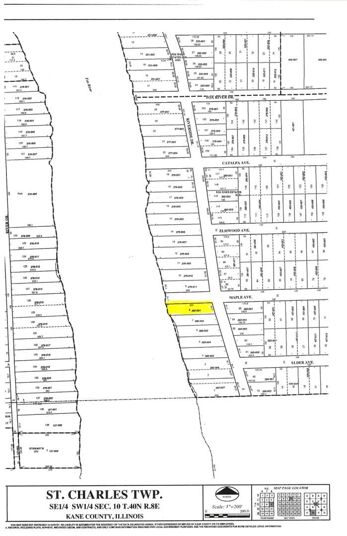 6N074 Riverside, ST. CHARLES, Illinois, 60174