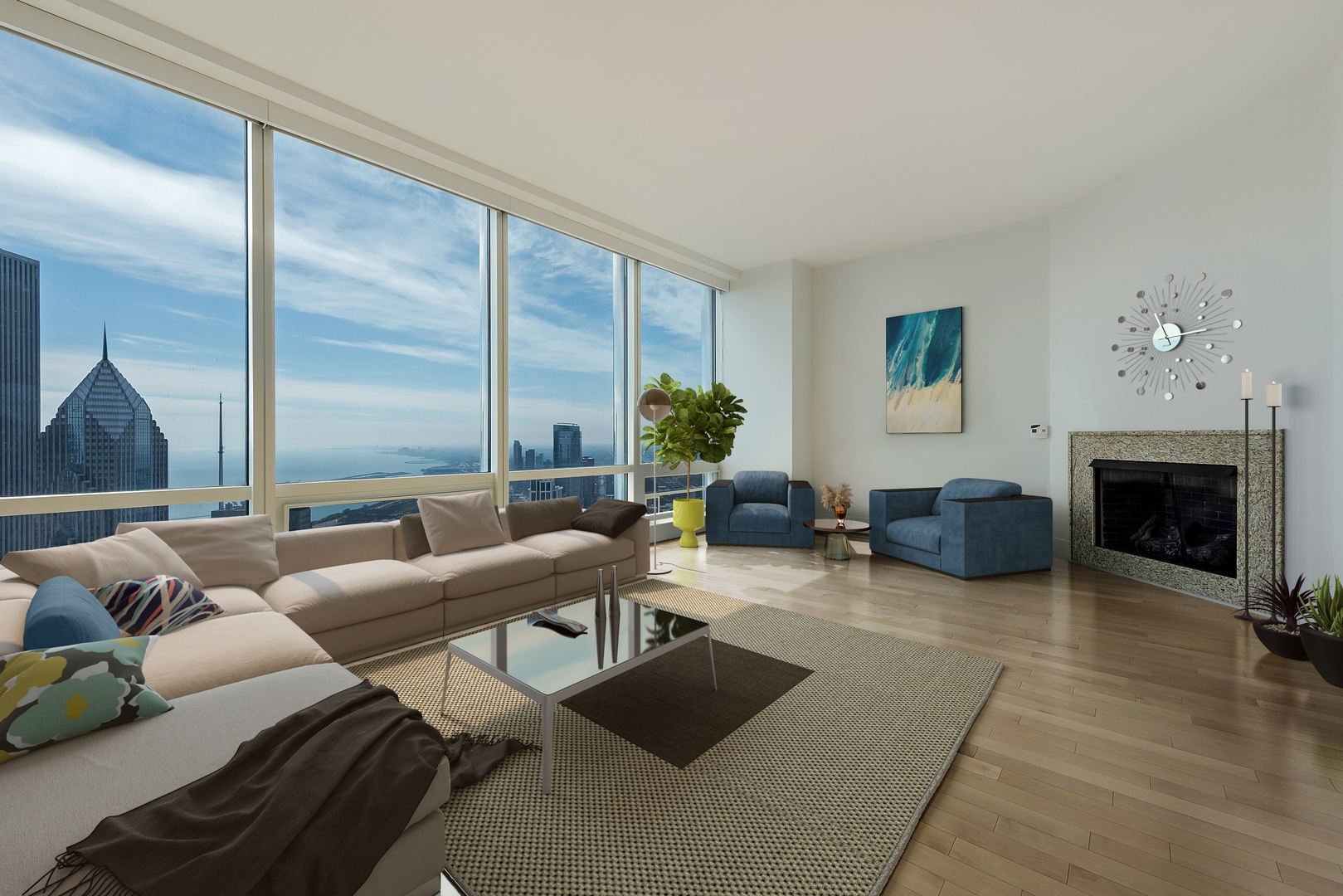 Condos For Sale in Trump Tower Chicago - 401 N. Wabash, Chicago ...