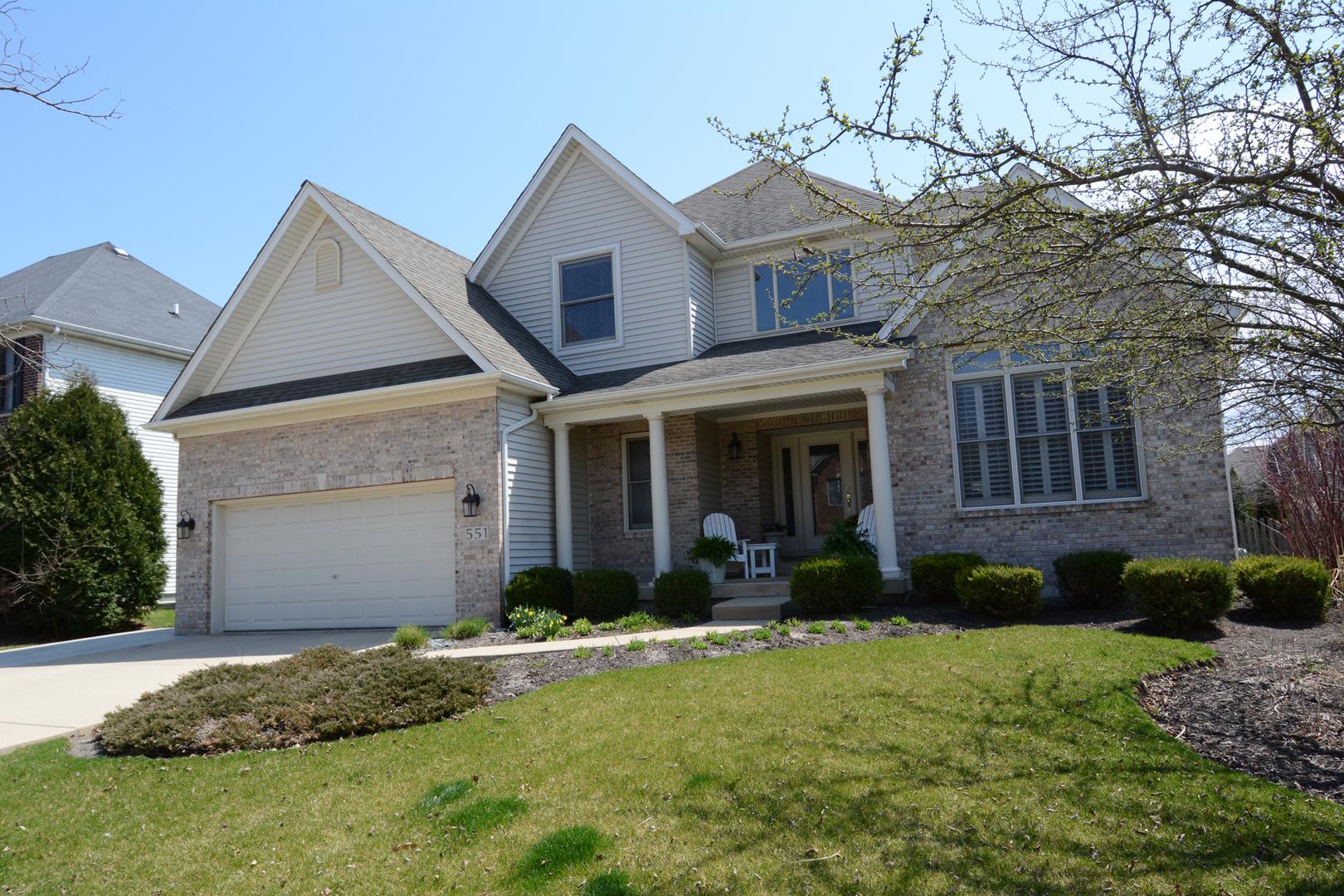 551 West Thornwood,  SOUTH ELGIN, Illinois