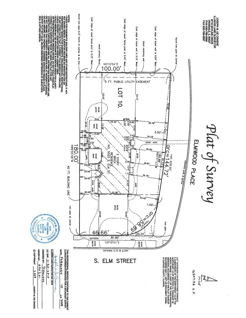 5522 South Elm, Hinsdale, Illinois, 60521