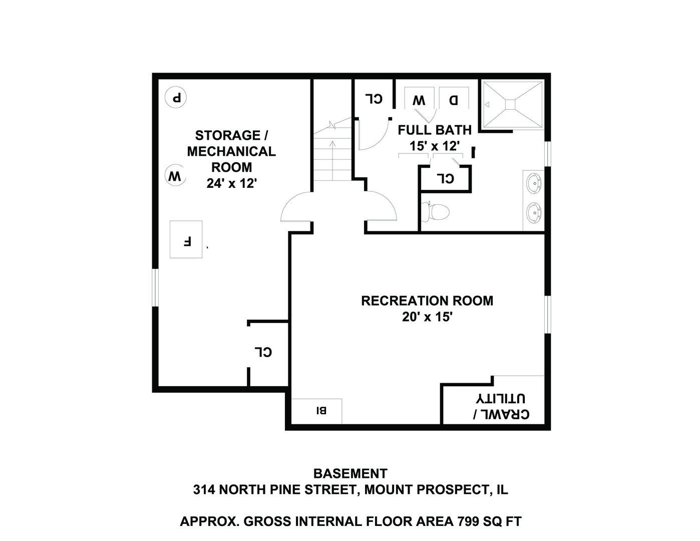 314 North Pine, Mount Prospect, Illinois, 60056
