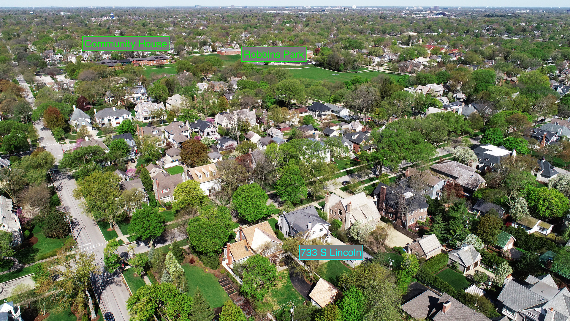 733 South Lincoln, Hinsdale, Illinois, 60521
