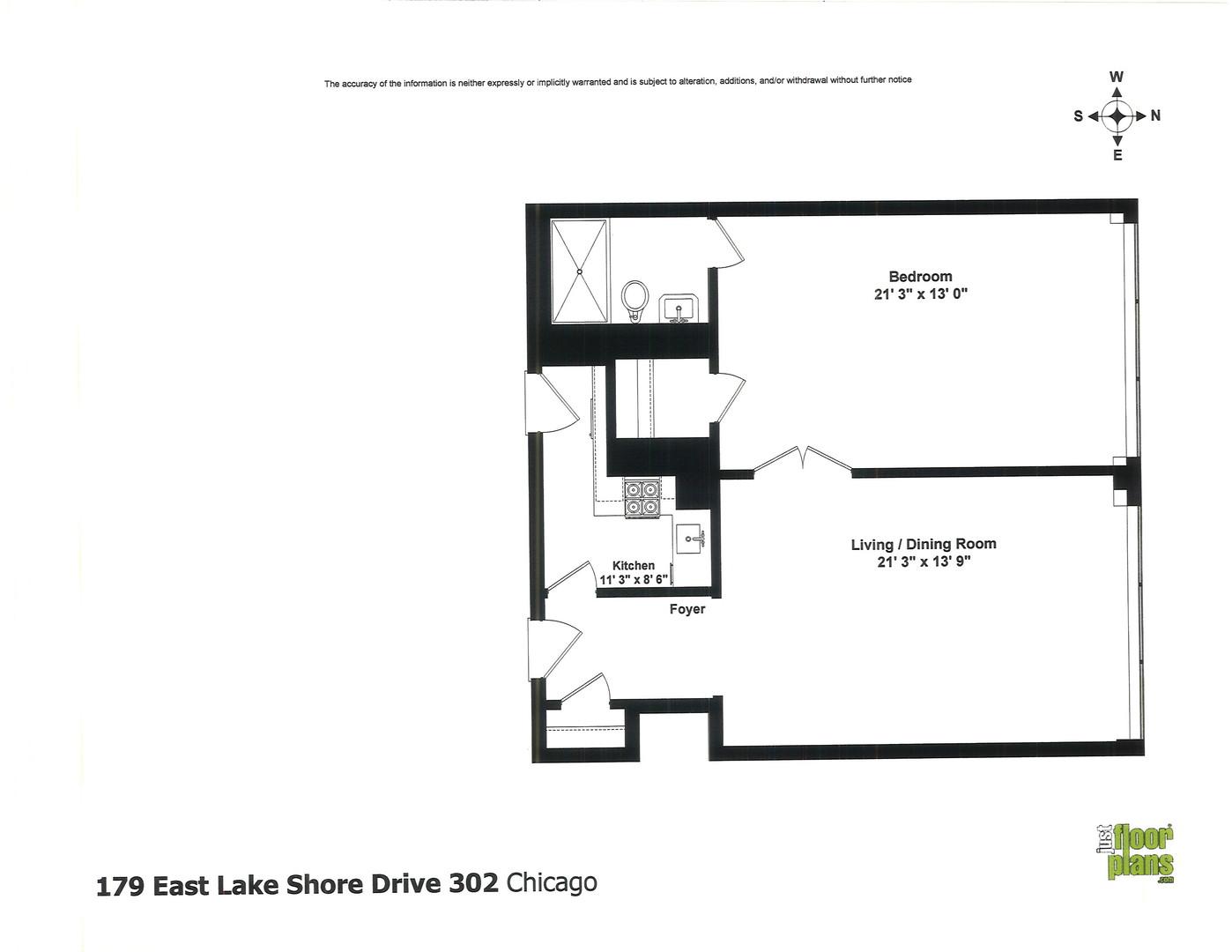 179 East LAKE SHORE 302, CHICAGO, Illinois, 60611
