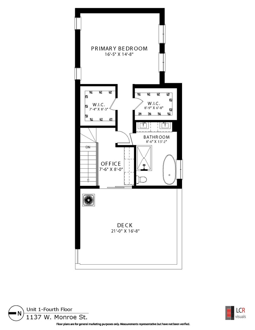 1137 Monroe Unit Unit 1 ,Chicago, Illinois 60607