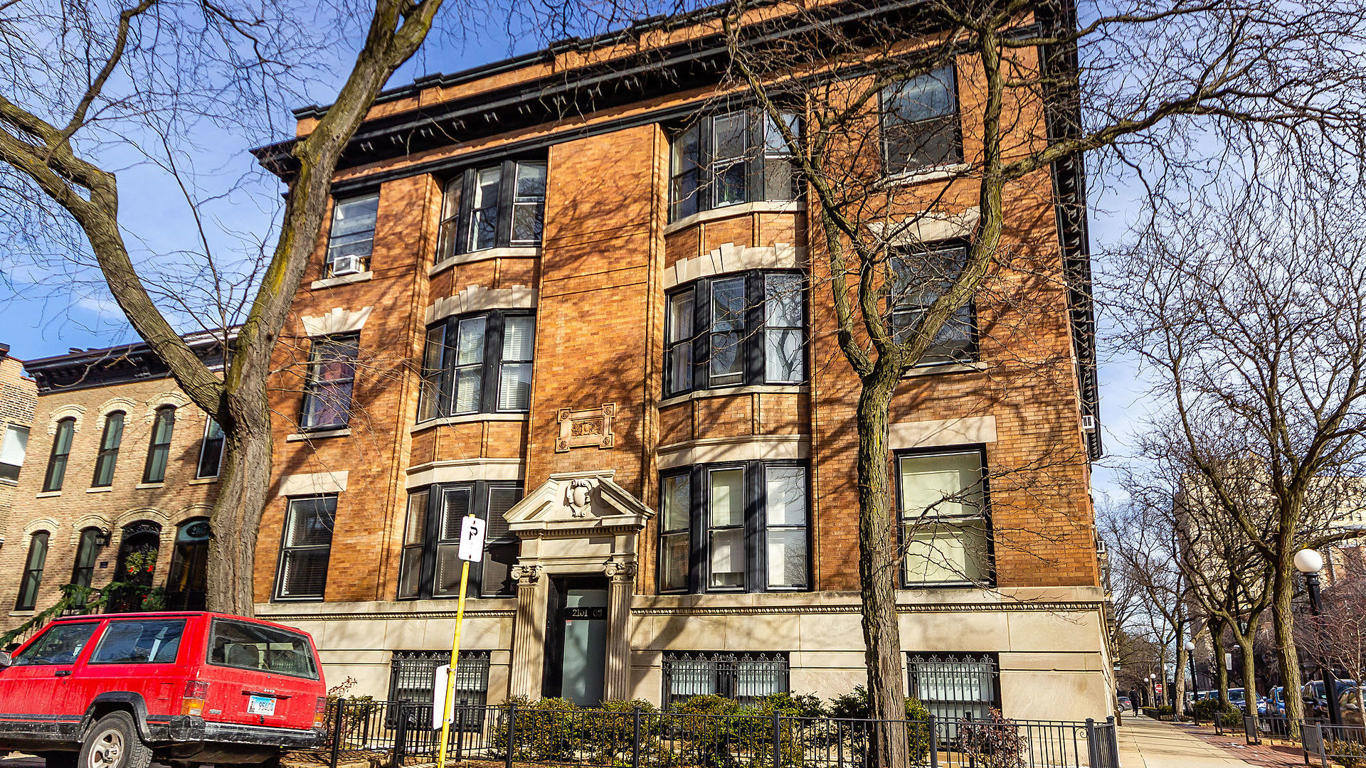 Is southeast Lincoln Park, walking distance to the Lakefront and Oz Park where you want to be? Then welcome home to this magnificent 2 bedroom / 2 bath condo in Lincoln Park! You will fall in love with this beautiful intimate building located among historic vintage properties. The building is also conveniently located between Lincoln and Clark walking distance to parks, shopping, nightlife, and public transportation. Once inside, you will love the open floor plan with abundant living space. The unit features beautiful built-ins, a fire place, gleaming hardwood floors, and lovely high end detail/finishes. The kitchen features stainless steel appliances and a granite counter top. The lower level contains both bedrooms together, a luxurious master bath appointed with gorgeous marble tile work, heated floors, and a steam shower! The in-unit laundry contains full-size front load washer and dryer. You will love the spacious patio and private fully built-out roof-top deck!