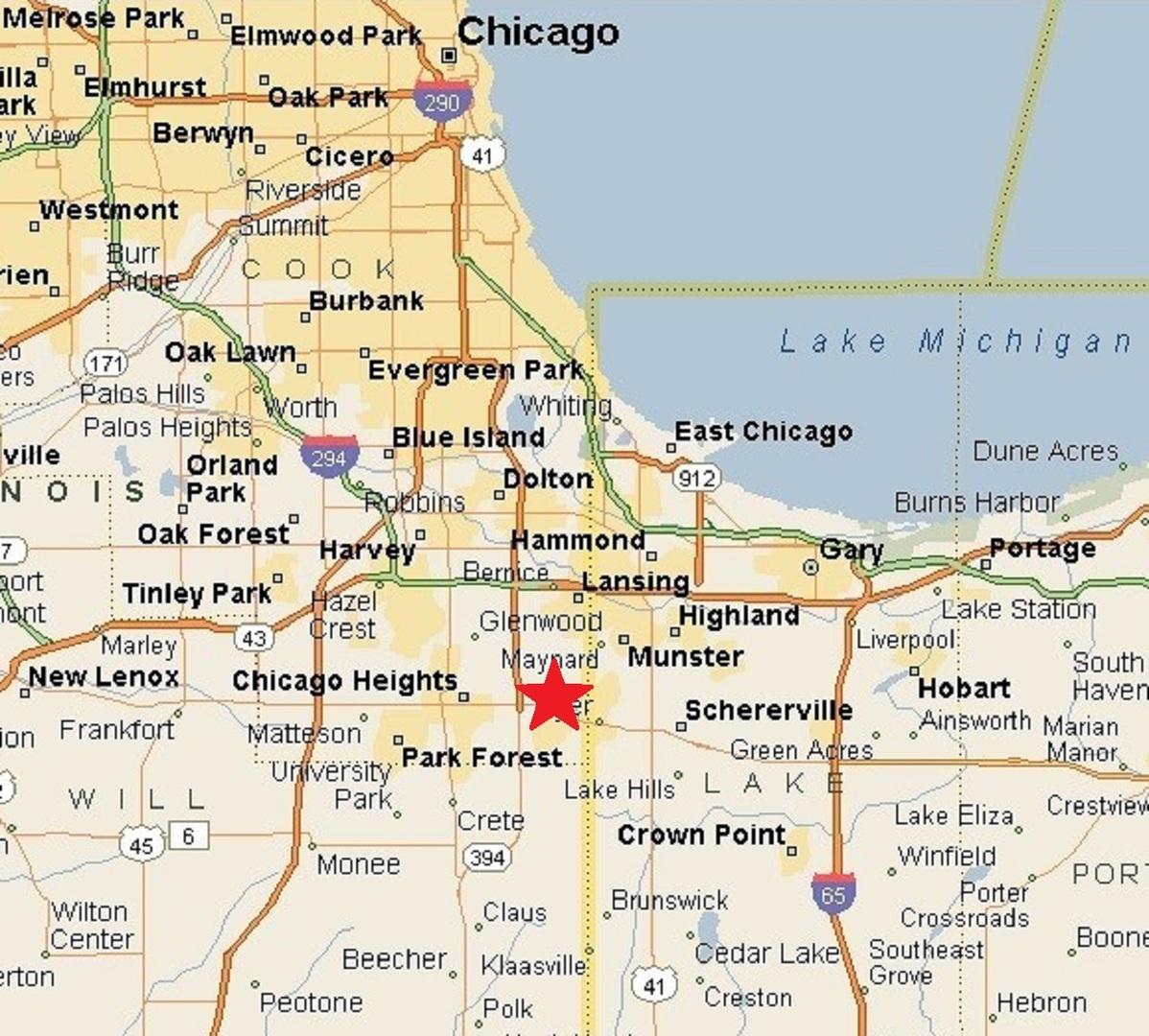 3370 Lincoln ,Lynwood, Illinois 60411