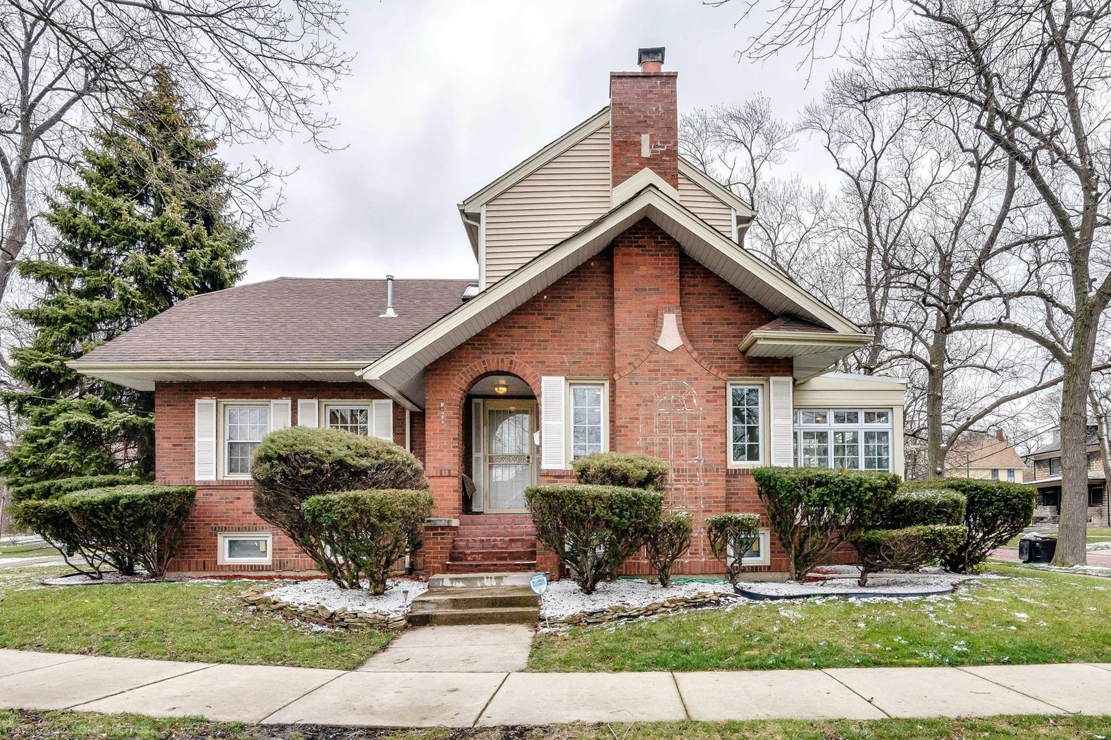 Welcome to your dream home in one of the most sought after areas in Chicago. This charming brick home is walking distance to the Metra and is located on a beautiful corner lot that is surrounded by green space and has a massive backyard w/a huge deck.  The home features a truly open floor plan on the first floor. The gorgeous kitchen has a large breakfast bar, granite counters, and SS appliances with wall-mounted double oven. The kitchen opens to the formal dining room and formal living room. The living room features a fireplace with an adjacent sun room that has floor to ceiling windows, but can be enjoyed all year. The main level also includes a powder room, hardwood floors throughout, and an en suite master bedroom. The original hardwood floors continue to the second level where you will find the ideal family layout of 3 bedrooms and a full bath. Add the family rooms, a 5th bedroom, abundant storage, and another full bath in the basement and you have it all!