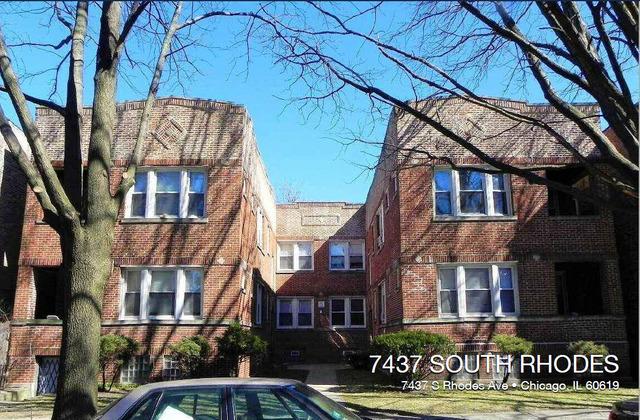 7437 Rhodes ,Chicago, Illinois 60619