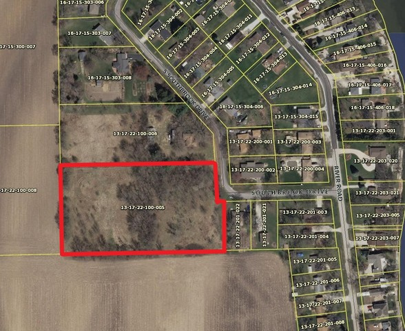 Opportunity to own and develop approx 3.7 acres of land near Kankakee River. Located on Southbrook Dr near River Rd