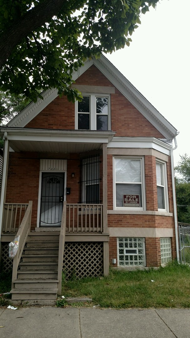 7221 SOUTH PEORIA STREET, CHICAGO, IL 60621