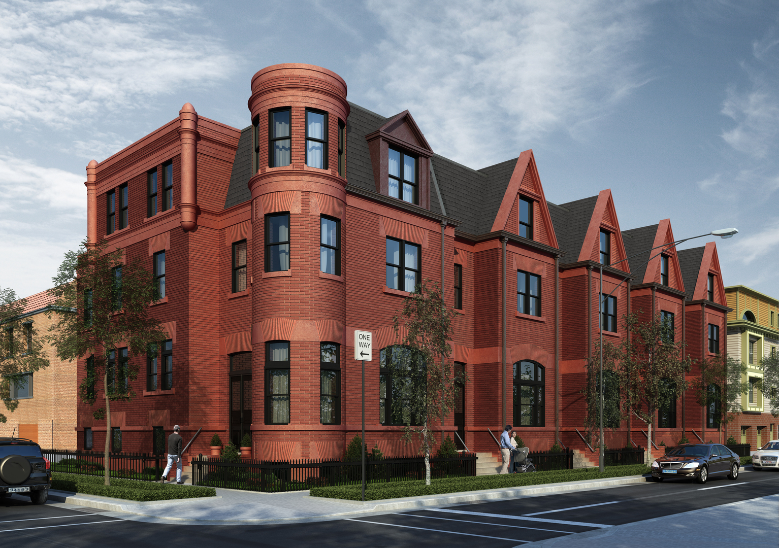 Villas / Townhouses for Sale at 1758 North Cleveland Avenue 1758 North Cleveland Avenue Chicago, Illinois,60614 United States