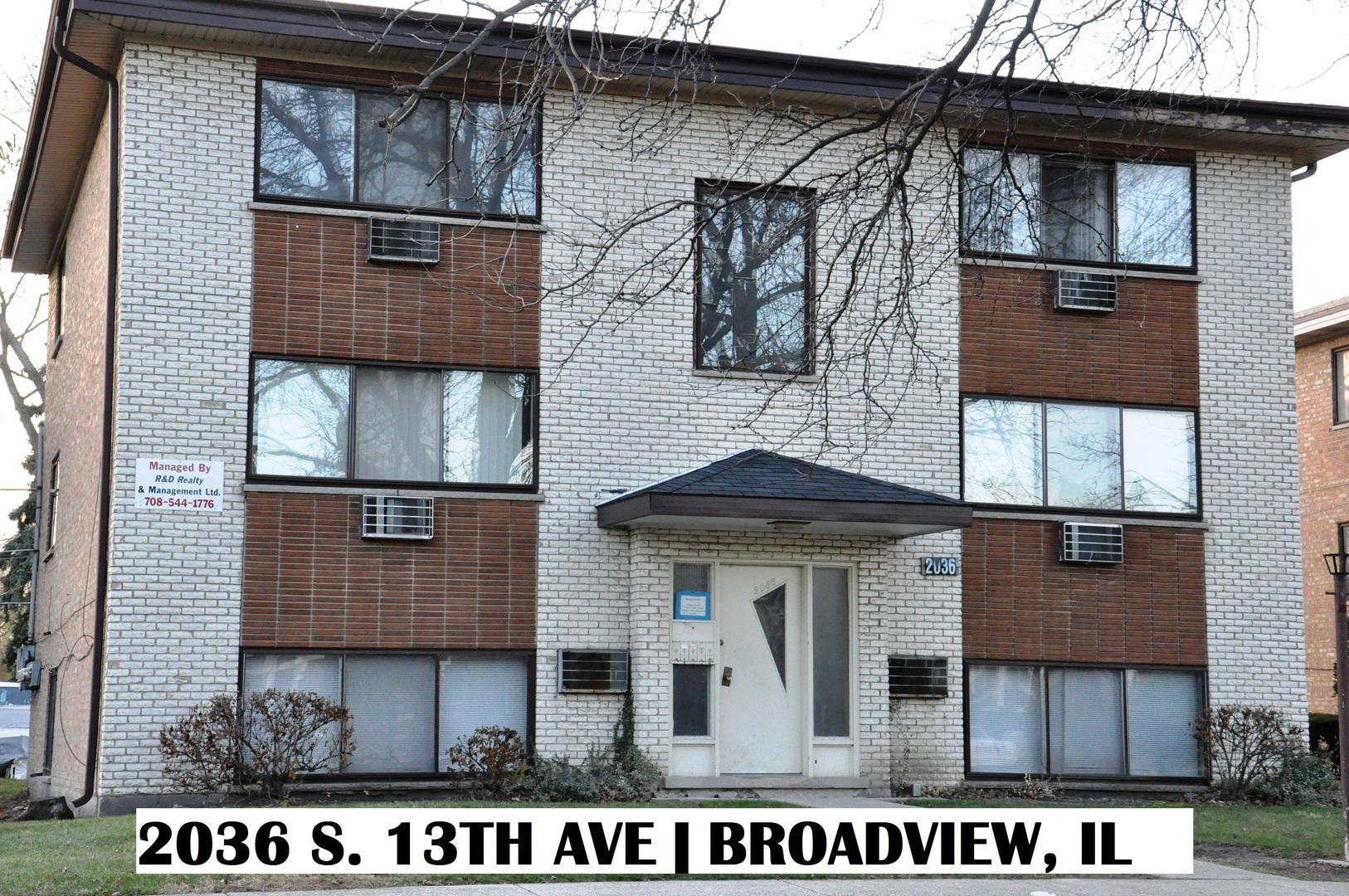 2036 13th ,Broadview, Illinois 60155
