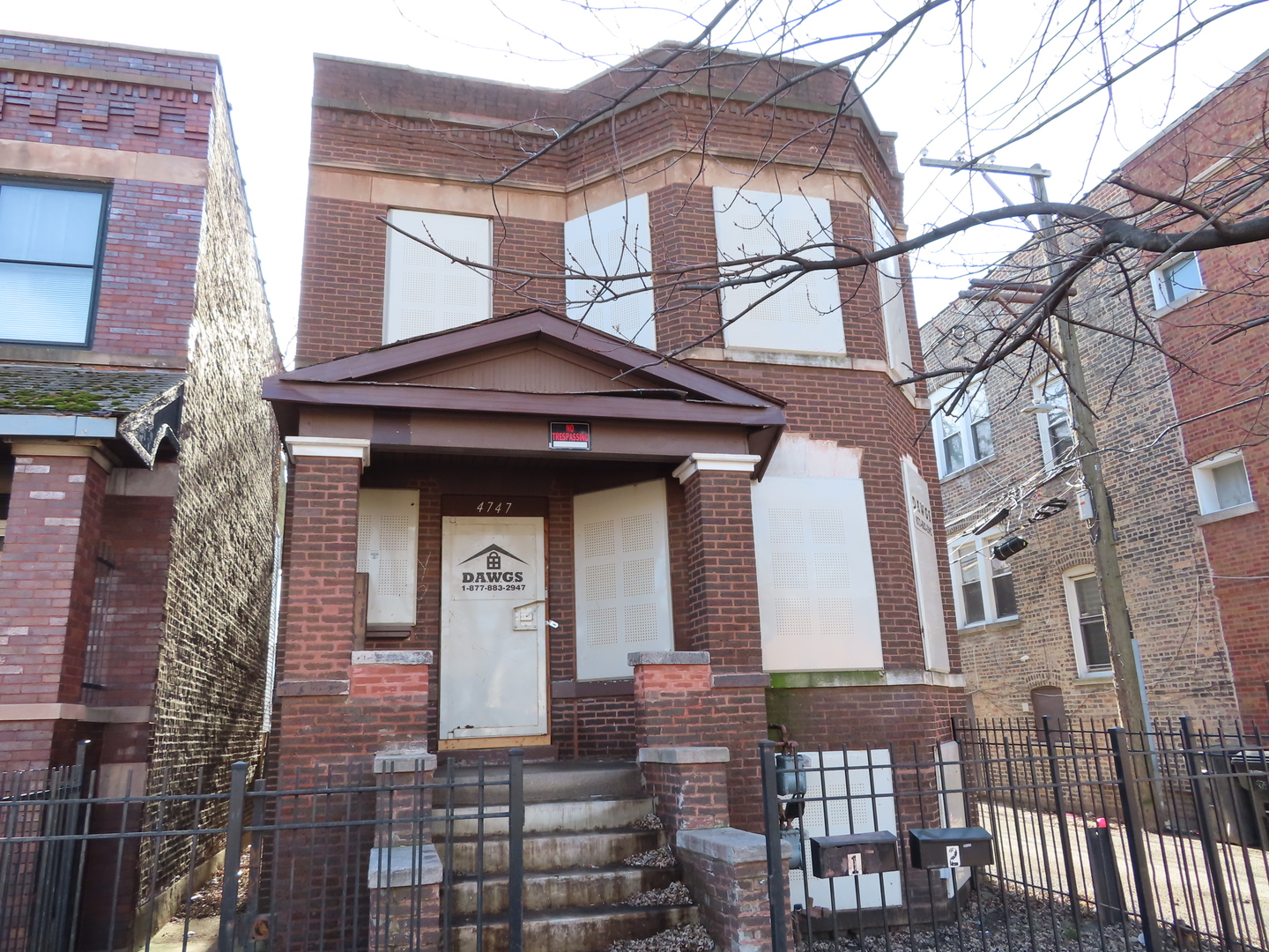 Calling all investors & rehabbers!!! 2-story brick legal 2-flat in need of work. 2nd floor unit is featuring open living room - separate dining room - eat in kitchen w/access to rear porch - 2 bedrooms & 1st full bathroom w/tub. 1st floor unit is featuring open living room - separate dining room - eat in kitchen w/access to rear porch - 3 bedrooms & 2nd full bathroom w/tub. There is full unfinished basement - hardwood floors thru-out the 1st & 2nd floors and ceramic floors in both bathrooms - detached 2-car garage - located on corner lot - fenced in front & rear yard. It is close to public transportation - CTA buses on CICERO AVENUE AND MADISON STREET & BLUE LINE L-TRAIN - 290 expressway - schools - Clark (John) Park - stores & fast food restaurants!!! Do not wait and schedule your appointment with your real estate agent today!!!