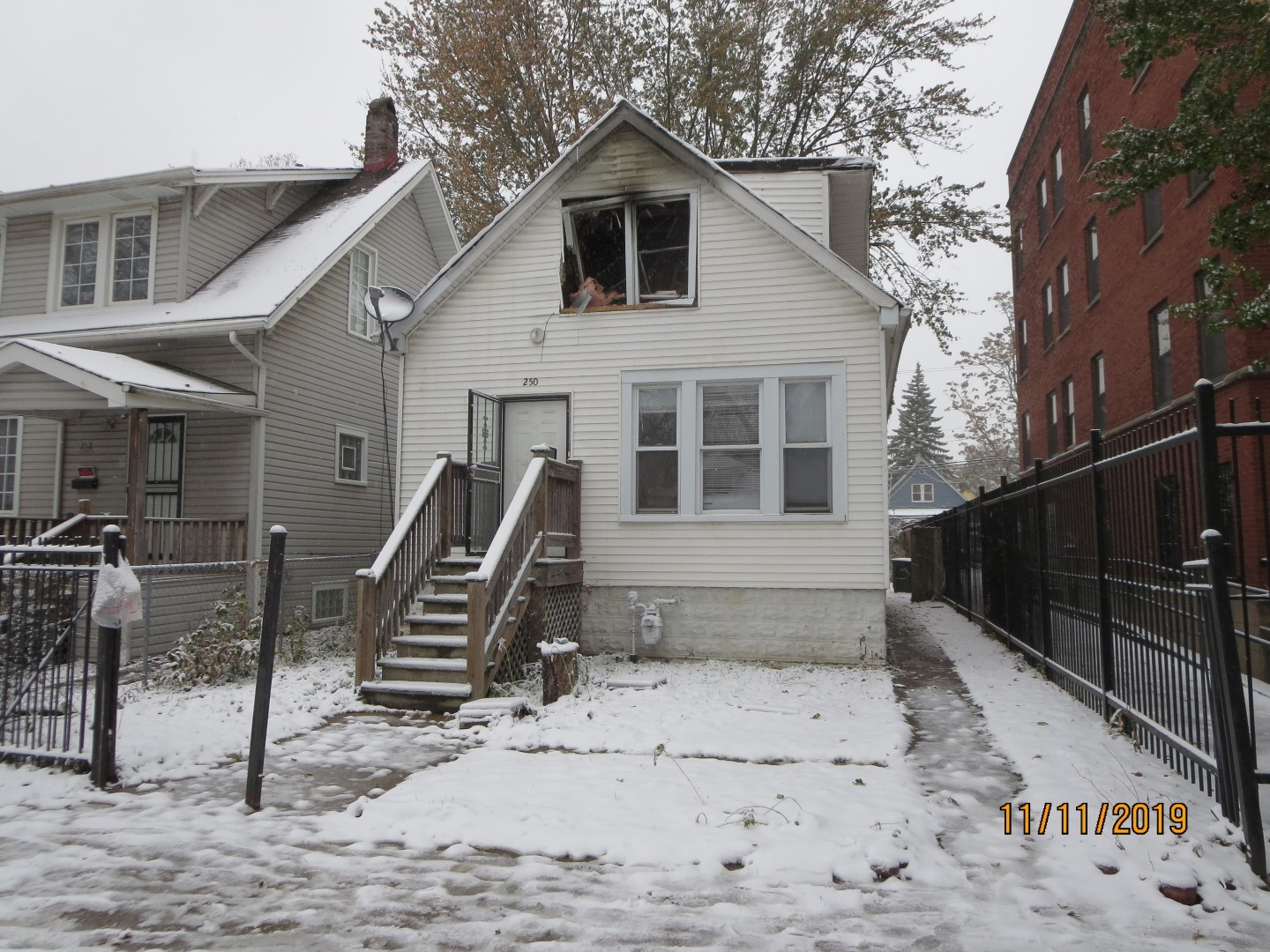FIRE DAMAGED PROPERTY SOLD AS-IS.   PLEASE NOTE: 0% TAX PRORATIONS ARE OFFERED, THE SELLER WILL PAY CURRENT AND ALL PRIOR TAX BUT 0% CREDIT FOR FUTURE BILLS.  SPECIAL WARRANTY DEED AT CLOSING. NO SURVEY.  FOR FASTER RESPONSE PLEASE USE SELLERS CONTRACT, ADDENDUM AND DISCLOSURES UNDER DOCUMENTS. EMAILING AGENT IS PREFERRED OVER CALLS . SHOW AT YOUR OWN RISK DUE TO CONDITION.
