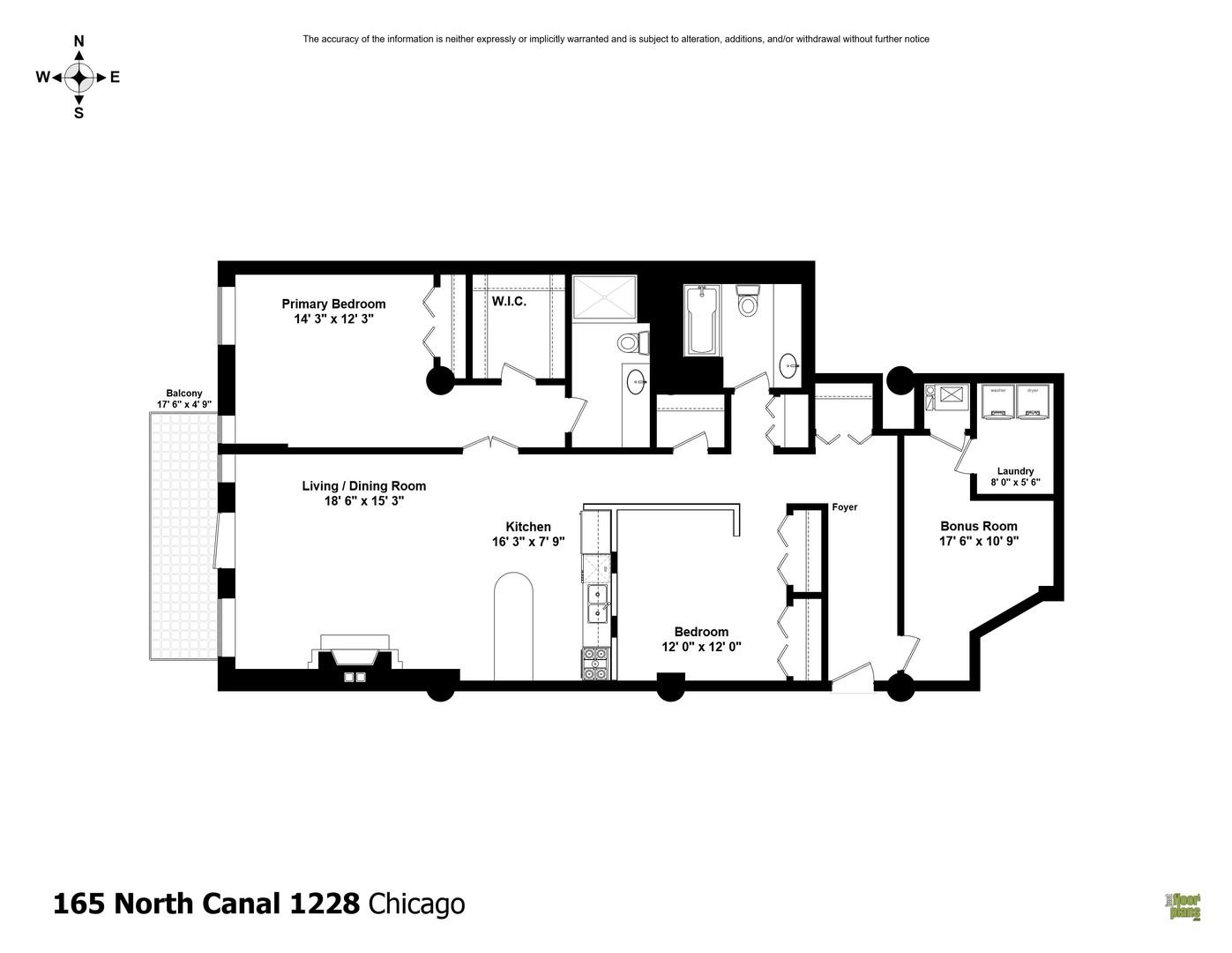 165 Canal Unit Unit 1228 ,Chicago, Illinois 60606