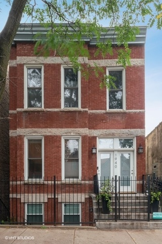 Incredible opportunity to own a turn-key legal three-flat with three 1 bedroom condo quality apartments in the heart of Bucktown.  Incredibly well maintained all brick two-flat + garden was recently combined from a 3-unit condo building into a single owner.   Garden 1bd/1ba fully gut rehabbed in 2016 to the studs/foundation. Unit includes modern & sleek wide-open concept, custom sliding glass bedroom doors, radiant heat polished concrete floors, in-unit W/D, high efficiency tankless water heater and SS appliances.  Unit 1 1 bd/1 ba + den features HW floors, gas FP, high ceilings, granite counters/floors, original pocket shutters, built in's in office/dining, private deck, new W/D in 2016.  Unit 2 1bd/1ba + den features bamboo floors, wainscoting throughout, high ceilings, built in's in office/living room/mudroom.  Never an issue to find tenants on this quiet tree-lined street located steps to boutique stores, award winning restaurants and public transportation including L and Metra.  All three one bedroom apartments are in high demand as one bedroom apartments make up less than 15% of the neighborhoods' supply. All three one bedroom apartments have seperate PINs and are separately metered.