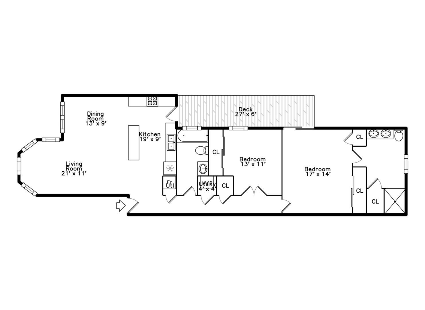 746 Cornelia Unit Unit 1w ,Chicago, Illinois 60657
