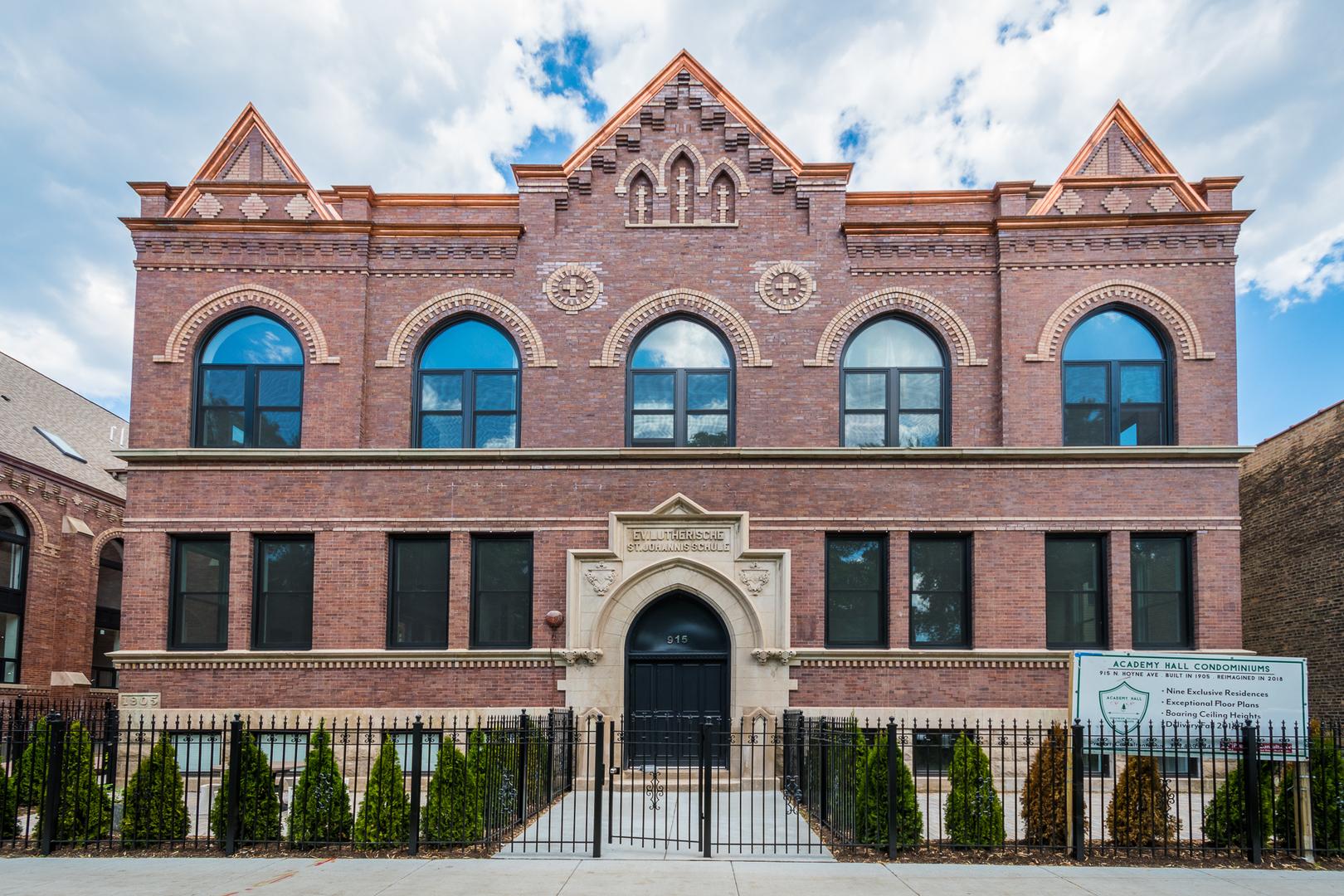 915 Hoyne Unit Unit 4 ,Chicago, Illinois 60622